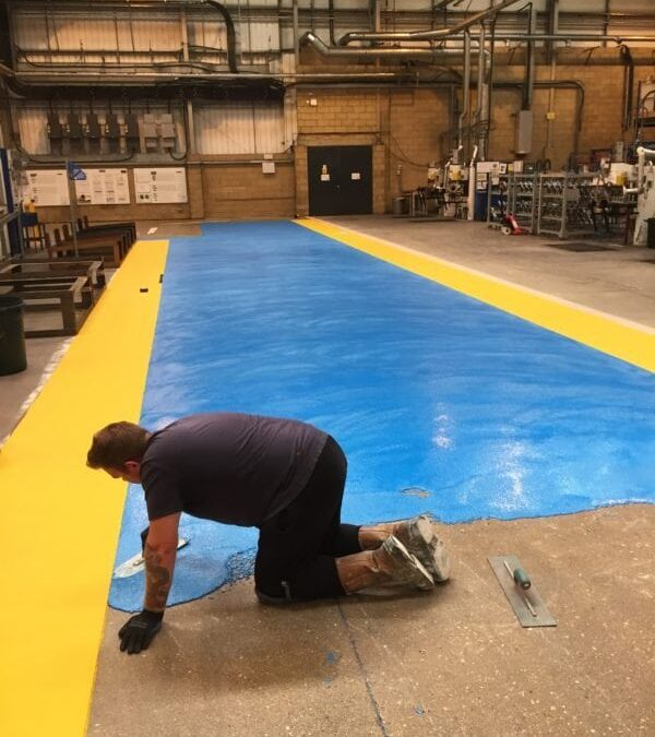 6mm Polyurethane screed – reliable and versatile