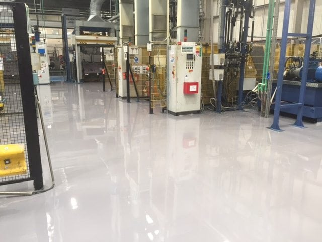 resin screed