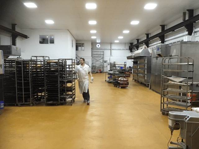 Food grade factory flooring – in pursuit of excellence