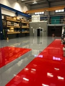 3mm SL Epoxy Resin Screed
