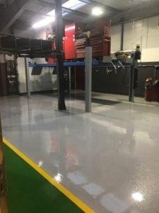 car dealership flooring