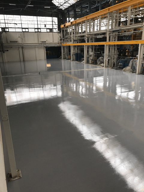 Cementitious Pump Screed, Engineering