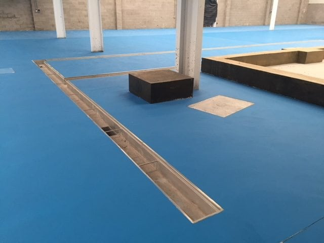 Heavy Duty Polyurethane Floor Laid at National Food Manufacturer