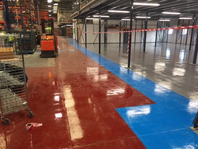Epoxy Resin Floor Coatings at Component Warehouse