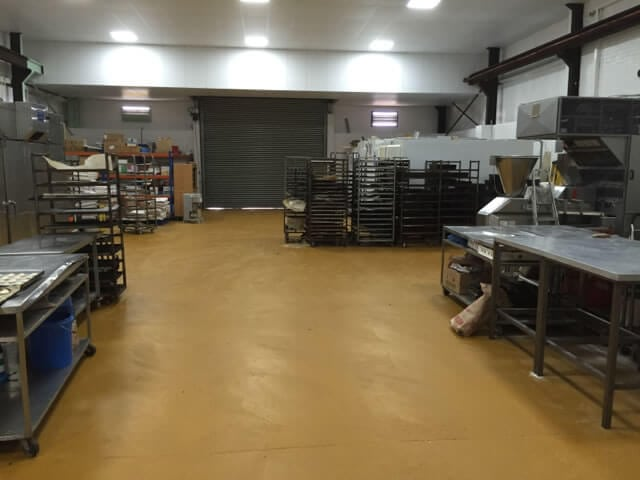 food factory flooring