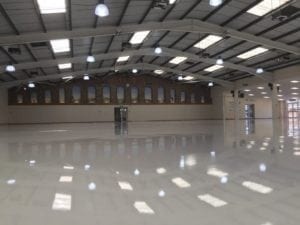 self levelling epoxy resin screed floor