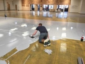 self levelling epoxy resin screed