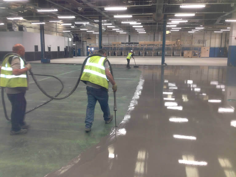 cementitious pump screeds contractor