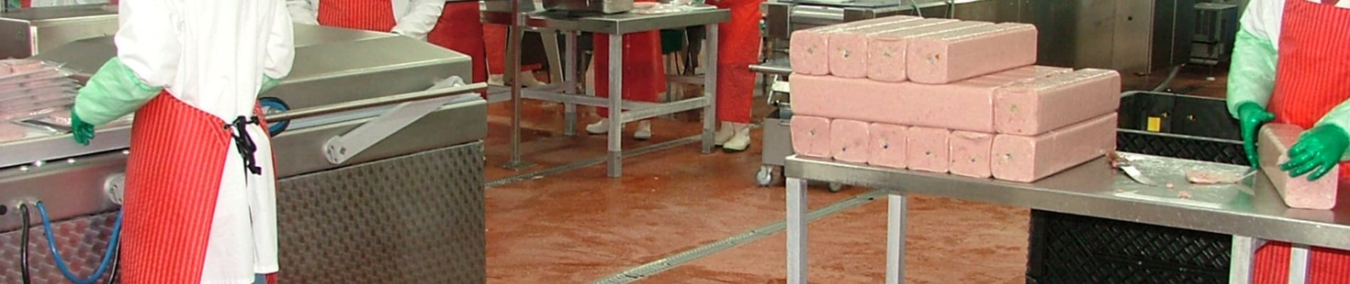 meat processing floor