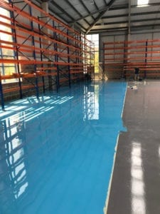 new high gloss flooring