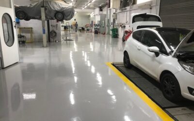 Paint shop perfect with Industrial Floor Paint Suppliers PSC