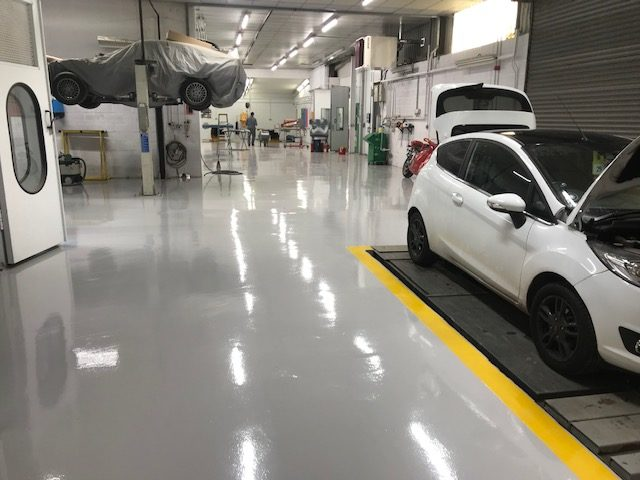 Industrial Floor Paint Suppliers, Get Paint shop perfect – PSC Flooring