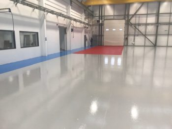 How can colour coded epoxy floor paint benefit your site?