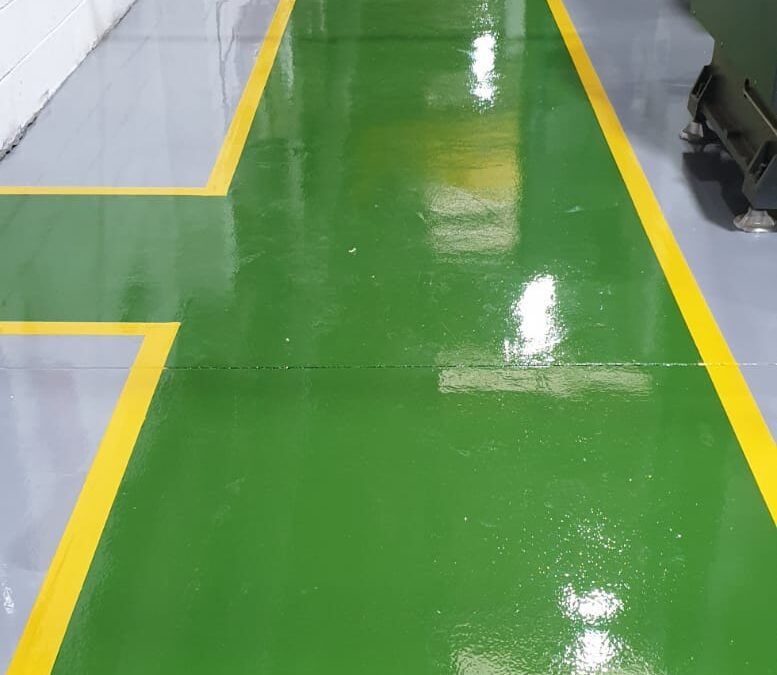 The transformation game | Hard wearing industrial flooring