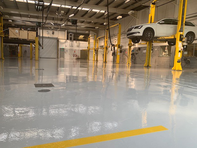 What makes a good workshop flooring?