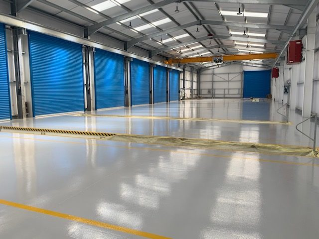 Epoxy Workshop Flooring | Roger Dyson Group