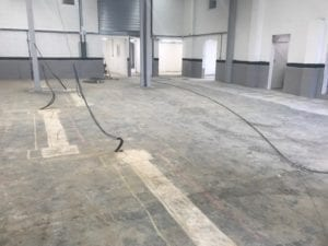 Epoxy Floor Preparation