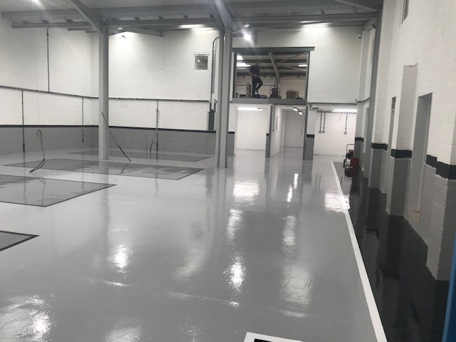 Poured resin flooring | Making the right first impression