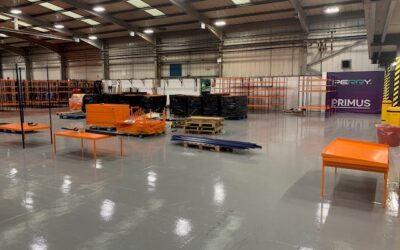 Hinging on success with epoxy floor coating systems