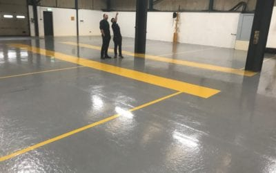 Marking Out The Way With Industrial Resin Flooring