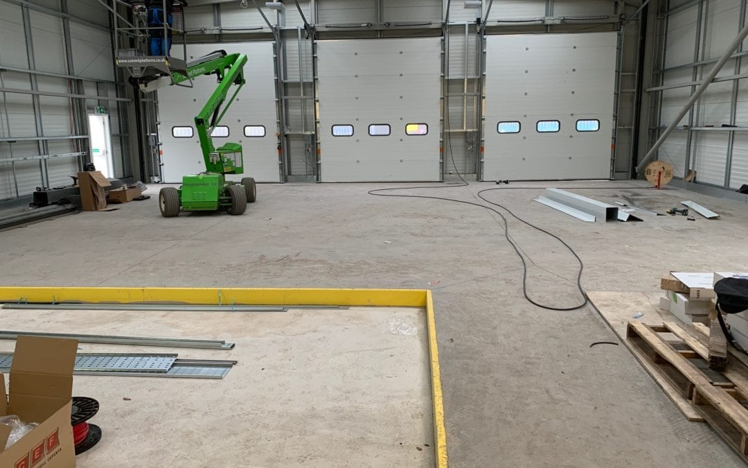 Epoxy Garage Floor Preparation | Industrial Flooring Contractors