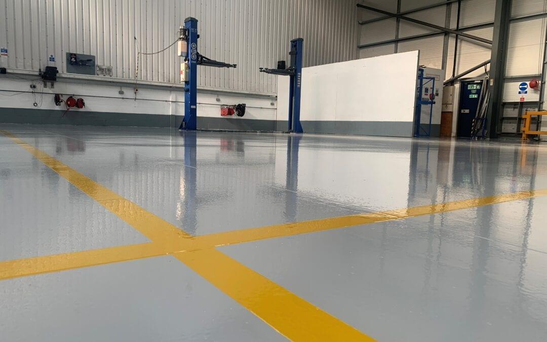 """Epoxy Resin Floor Vs """"DIY Floor Paint"""""""