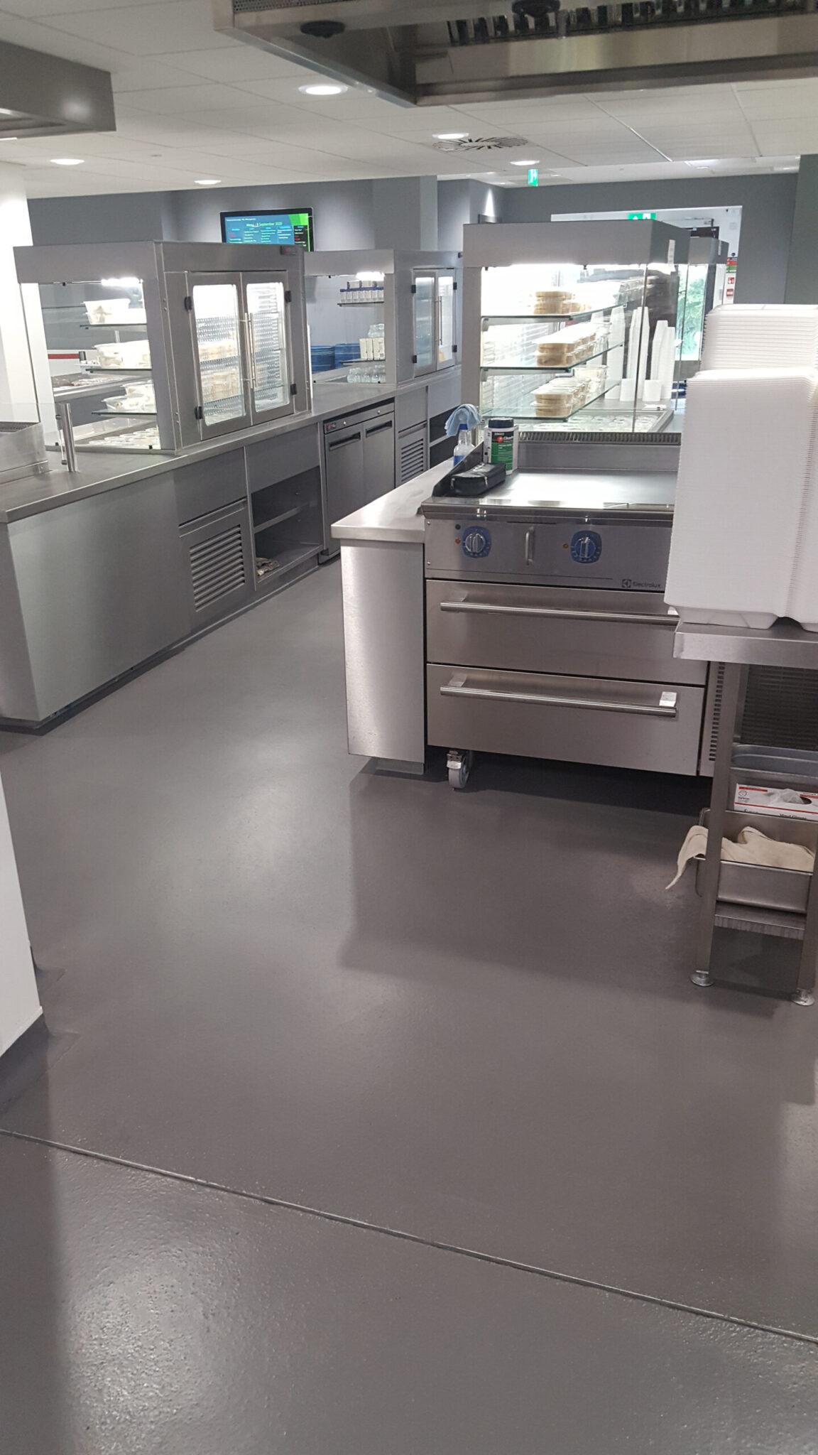 Epoxy resin coating grey