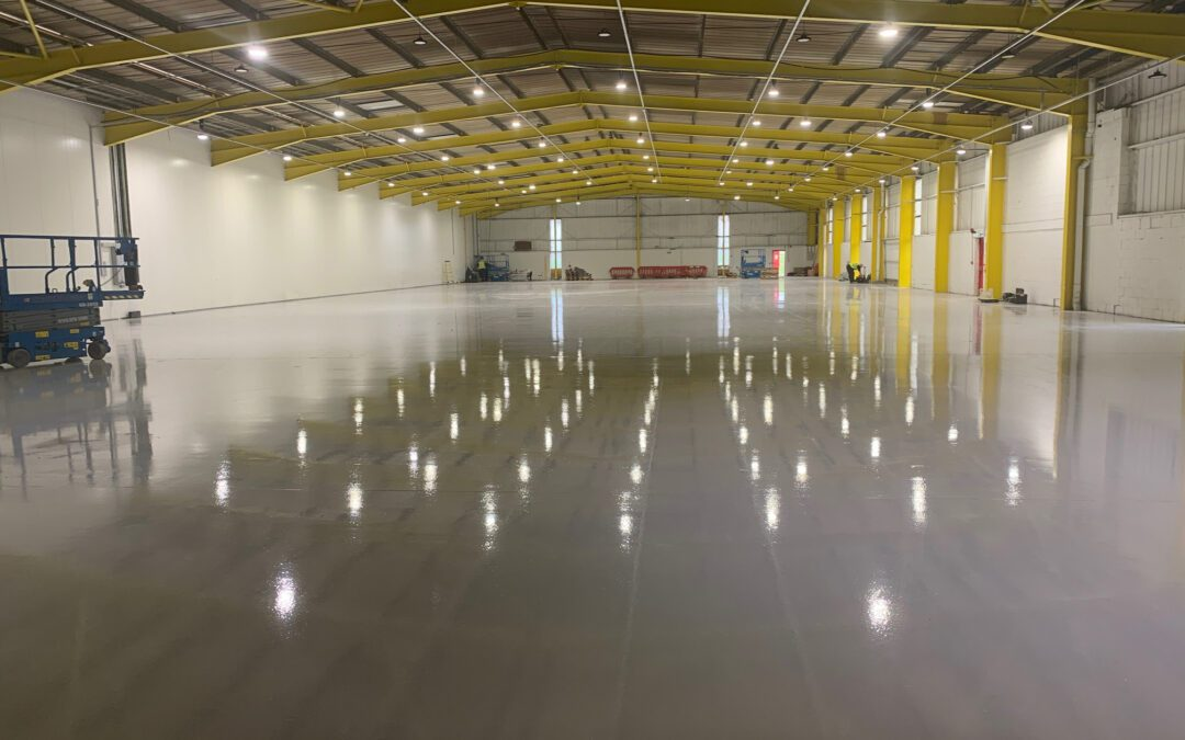 Flawless Finish – Pump Screed Application