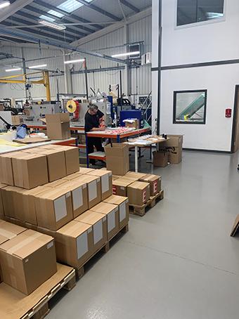 warehouse resin floors