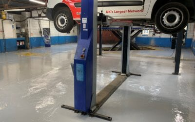 As Good As It Gets – A Workshop Epoxy Floor We Can Be Proud Of!