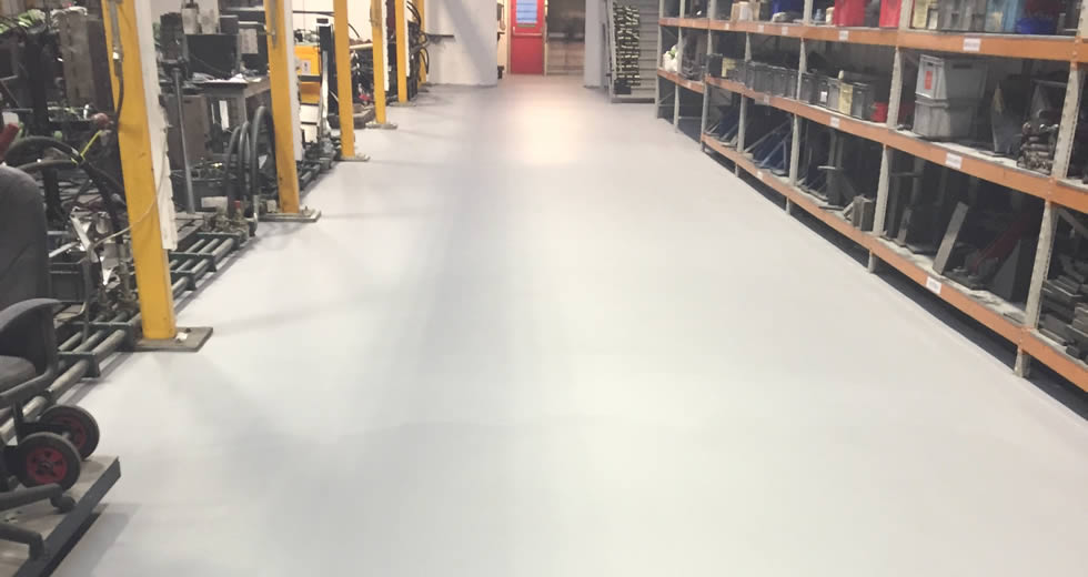 Gestamp Tallent Ltd - 6mm SL epoxy resin screed