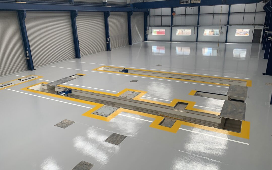 Dealing with newly laid concrete – how to prevent moisture delaminating resin flooring systems.
