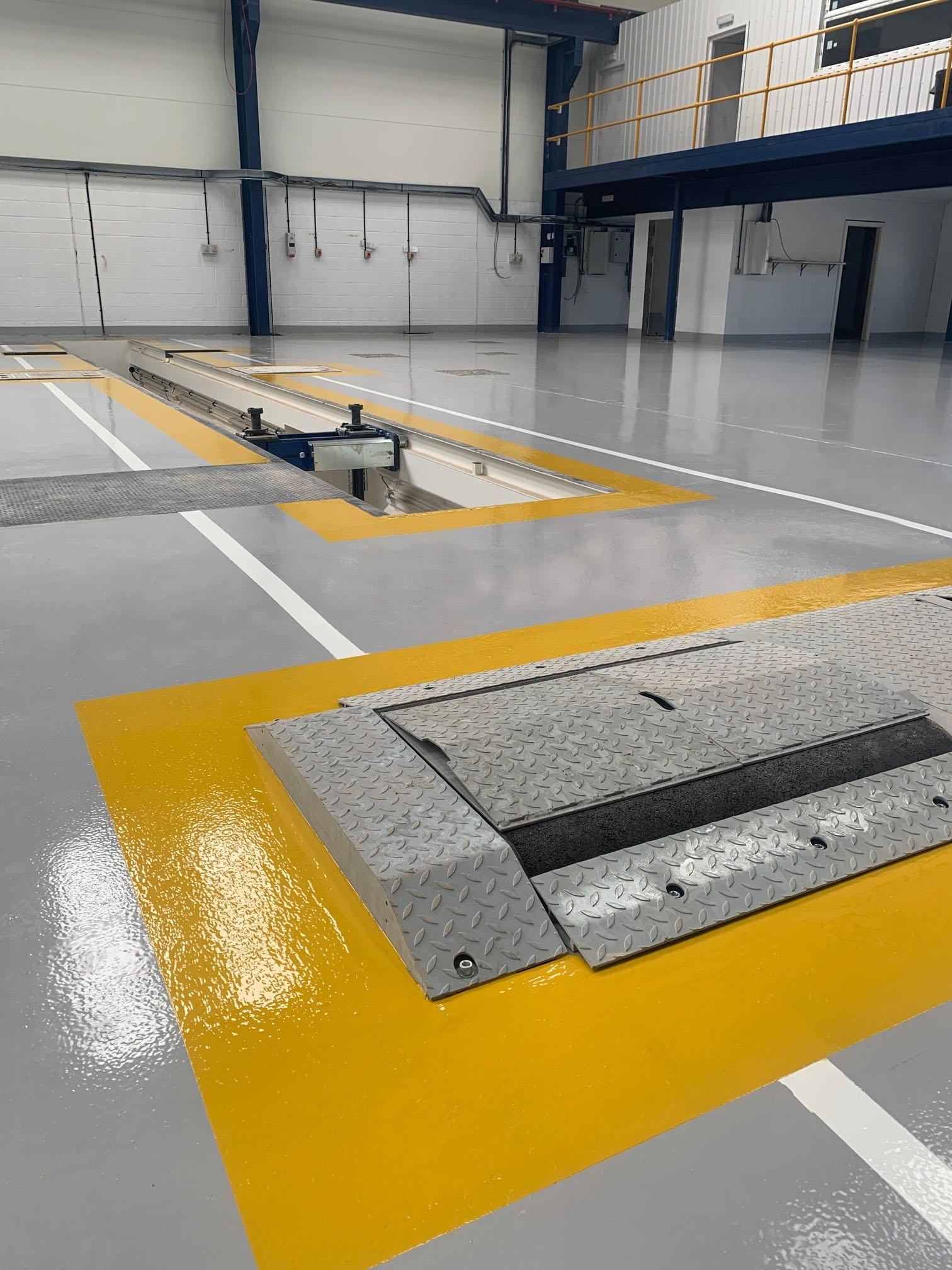 Resin Floor Systems - Newly Laid Concrete