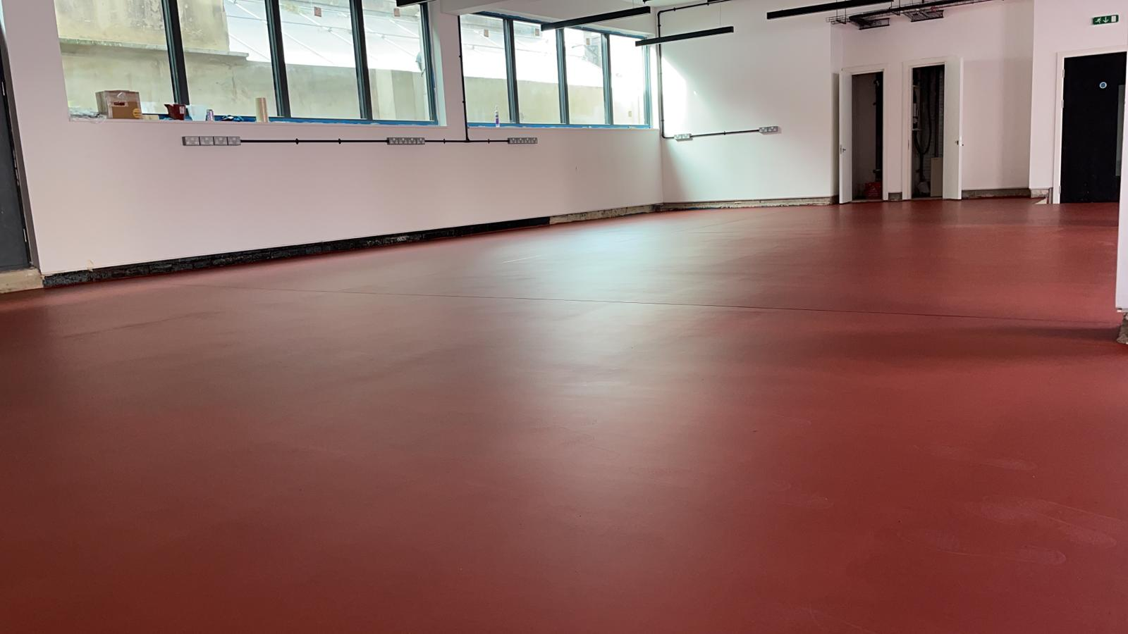Pigmented Cementitious Pump Screed