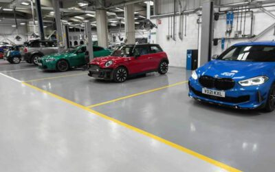 Vehicle Workshop Flooring – Shorade Accident Repair Centre