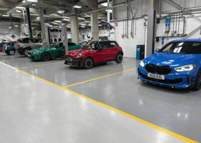 Vehicle Workshop Flooring |